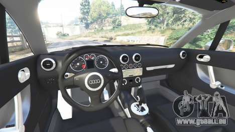 GTA 5 Audi TT (8N) 2004 [replace] droite vue latérale