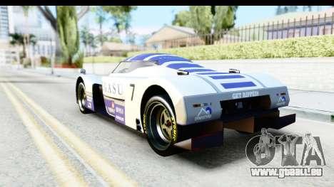 GTA 5 Annis RE-7B IVF pour GTA San Andreas vue de dessus