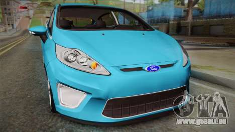 Ford Fiesta Kinetic Design für GTA San Andreas rechten Ansicht