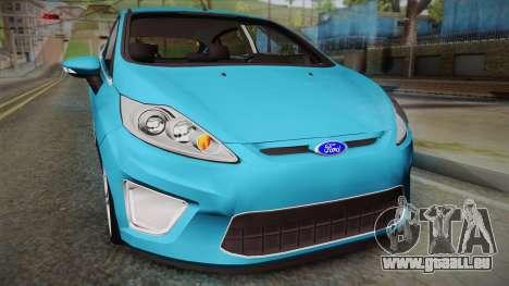 Ford Fiesta Kinetic Design pour GTA San Andreas vue de droite