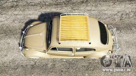 Volkswagen Fusca 1968 v0.8 [replace] pour GTA 5