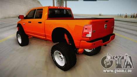 Dodge Ram 2500 Lifted Edition für GTA San Andreas linke Ansicht