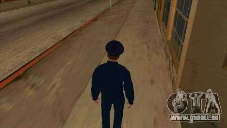 Le Procureur de la veste PN pour GTA San Andreas quatrième écran