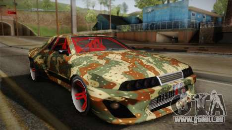 Elegy Drift für GTA San Andreas Rückansicht