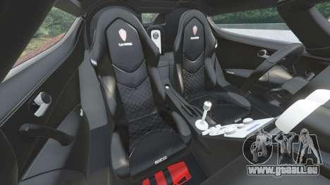 GTA 5 Koenigsegg CCX 2006 [Autovista] v2.0 [replace] volant