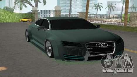 Audi A7 Sportback pour GTA Vice City