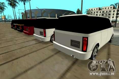 Moonbeam Kaef pour GTA San Andreas vue de droite