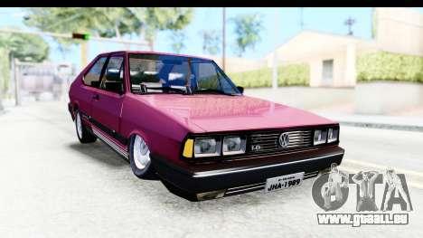 Volkswagen Passat Pointer GTS 1.8 1988 für GTA San Andreas rechten Ansicht