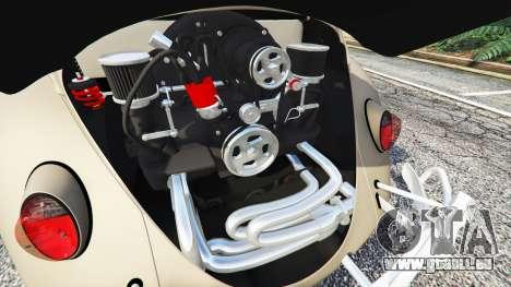 GTA 5 Volkswagen Fusca 1968 v0.8 [replace] hinten rechts