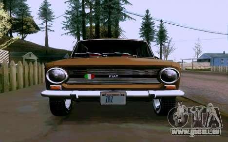 Fiat 124 pour GTA San Andreas vue de droite