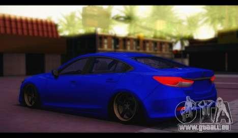 Mazda 6 Stance für GTA San Andreas linke Ansicht