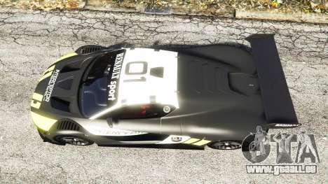 GTA 5 Renault Sport RS 01 2014 Police Interceptor [a] Rückansicht