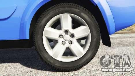 GTA 5 Toyota RAV4 (XA20) [replace] hinten rechts