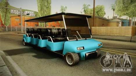 Caddy Limo für GTA San Andreas