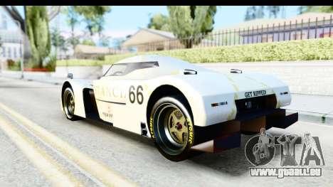 GTA 5 Annis RE-7B IVF für GTA San Andreas Innenansicht