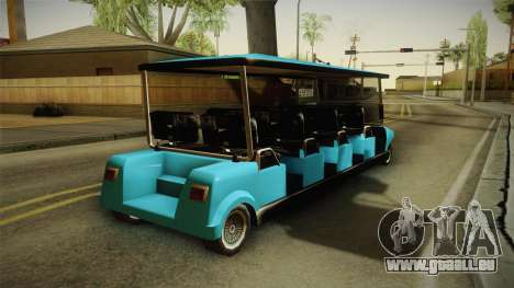 Caddy Limo für GTA San Andreas rechten Ansicht