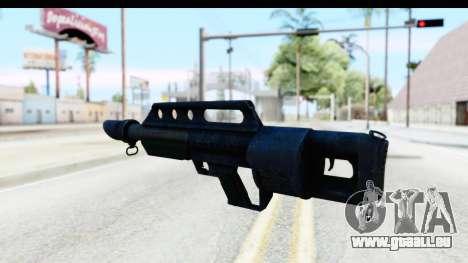 Pancor Jackhammer pour GTA San Andreas deuxième écran