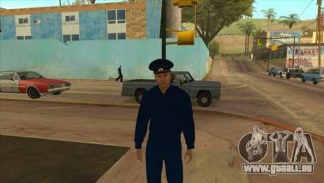 Le Procureur de la veste PN pour GTA San Andreas troisième écran