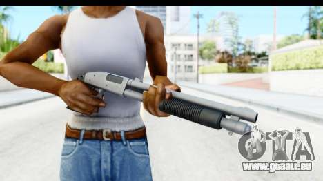 Tactical Mossberg 590A1 Chrome v3 für GTA San Andreas