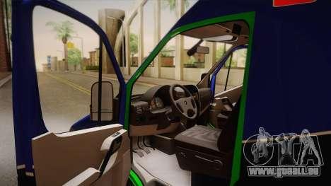 Mercedes-Benz Sprinter 2012 Midwest Ambulance für GTA San Andreas rechten Ansicht