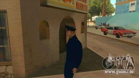 Die Staatsanwaltschaft in Jacke PN für GTA San Andreas zweiten Screenshot