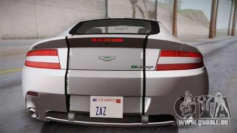 NFS: Carbon TFKs Aston Martin Vantage für GTA San Andreas Rückansicht