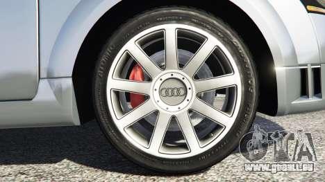GTA 5 Audi TT (8N) 2004 [replace] arrière droit vue de côté