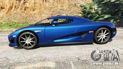 Koenigsegg CCX 2006 [Autovista] v2.0 [replace] pour GTA 5