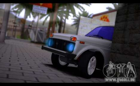 VAZ 2121 Bpan für GTA San Andreas zurück linke Ansicht