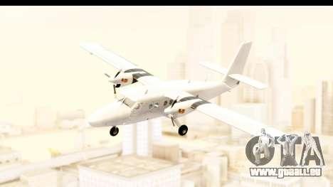 DHC-6-400 All White für GTA San Andreas