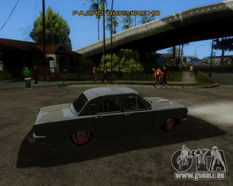 GAZ 2401 für GTA San Andreas linke Ansicht