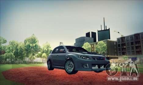 Subaru Impreza WRX STI 2011 pour GTA San Andreas vue de côté