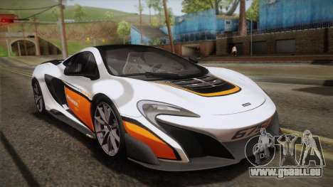 McLaren 675LT 2015 10-Spoke Wheels pour GTA San Andreas roue