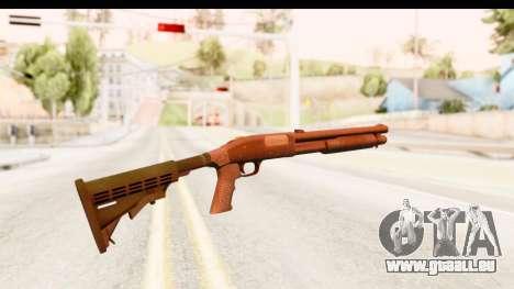 Tactical Mossberg 590A1 Black v2 für GTA San Andreas zweiten Screenshot