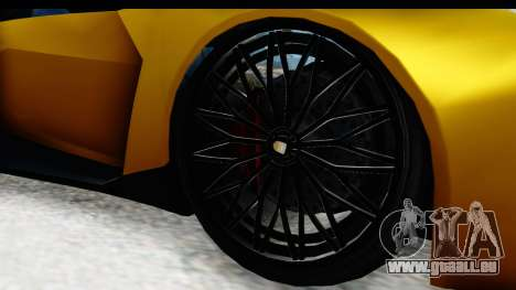 GTA 5 Pegassi Reaper IVF für GTA San Andreas Rückansicht