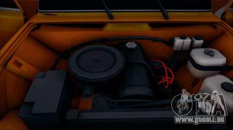 VAZ 2105 Pigler 1.0 pour GTA San Andreas vue arrière