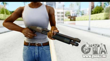 Tactical Mossberg 590A1 Black v3 pour GTA San Andreas troisième écran