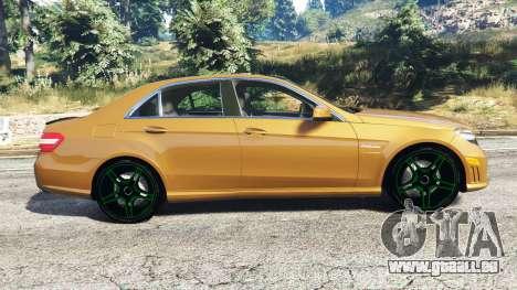 Mercedes-Benz E63 (W212) AMG 2010 [add-on] pour GTA 5