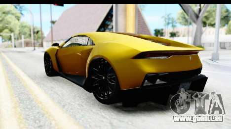 GTA 5 Pegassi Reaper IVF für GTA San Andreas linke Ansicht