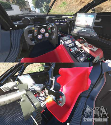 GTA 5 Renault Sport RS 01 2014 Police Interceptor [a] hinten rechts