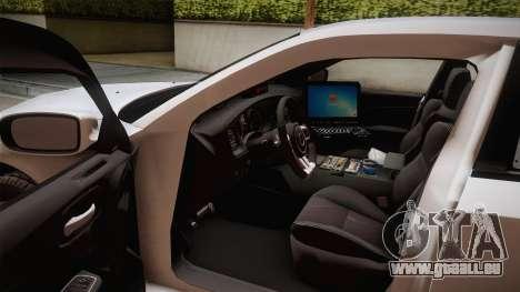 Dodge Charger 2013 Undercover pour GTA San Andreas vue intérieure
