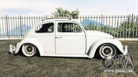 GTA 5 Volkswagen Fusca 1968 v1.0 [add-on] linke Seitenansicht