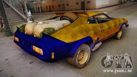 Ford Falcon 1973 Mad Max: Fury Road für GTA San Andreas linke Ansicht