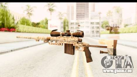 Cheytac M200 Intervention Desert Camo für GTA San Andreas zweiten Screenshot