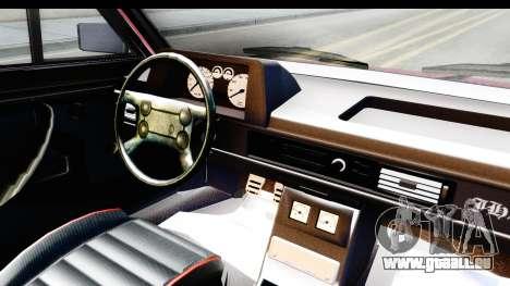Volkswagen Passat Pointer GTS 1.8 1988 für GTA San Andreas Innenansicht