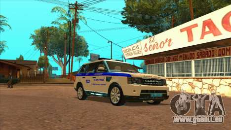 Range Rover Sport ДПС pour GTA San Andreas