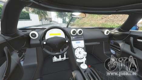 GTA 5 Koenigsegg CCX 2006 [Autovista] v2.0 [replace] avant droite vue de côté