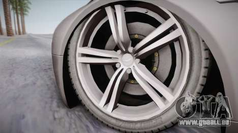 NFS: Carbon TFKs Aston Martin Vantage pour GTA San Andreas sur la vue arrière gauche