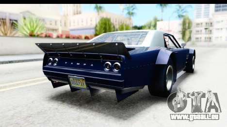 GTA 5 Declasse Tampa Drift für GTA San Andreas linke Ansicht