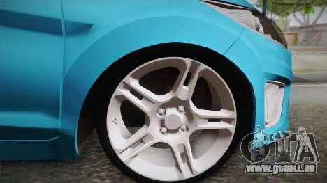 Ford Fiesta Kinetic Design pour GTA San Andreas sur la vue arrière gauche
